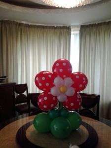 floare din baloane