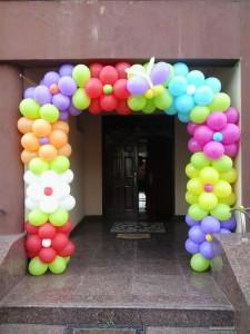 arcada multicolora