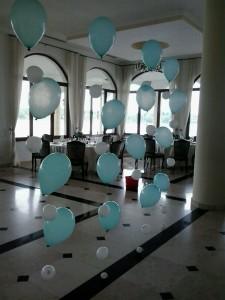 Aranjamente din baloane cu heliu