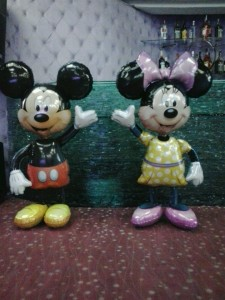 Mickey si Minnie