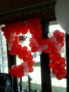 5 si 4 din balonase mici