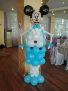 Mickey din baloane